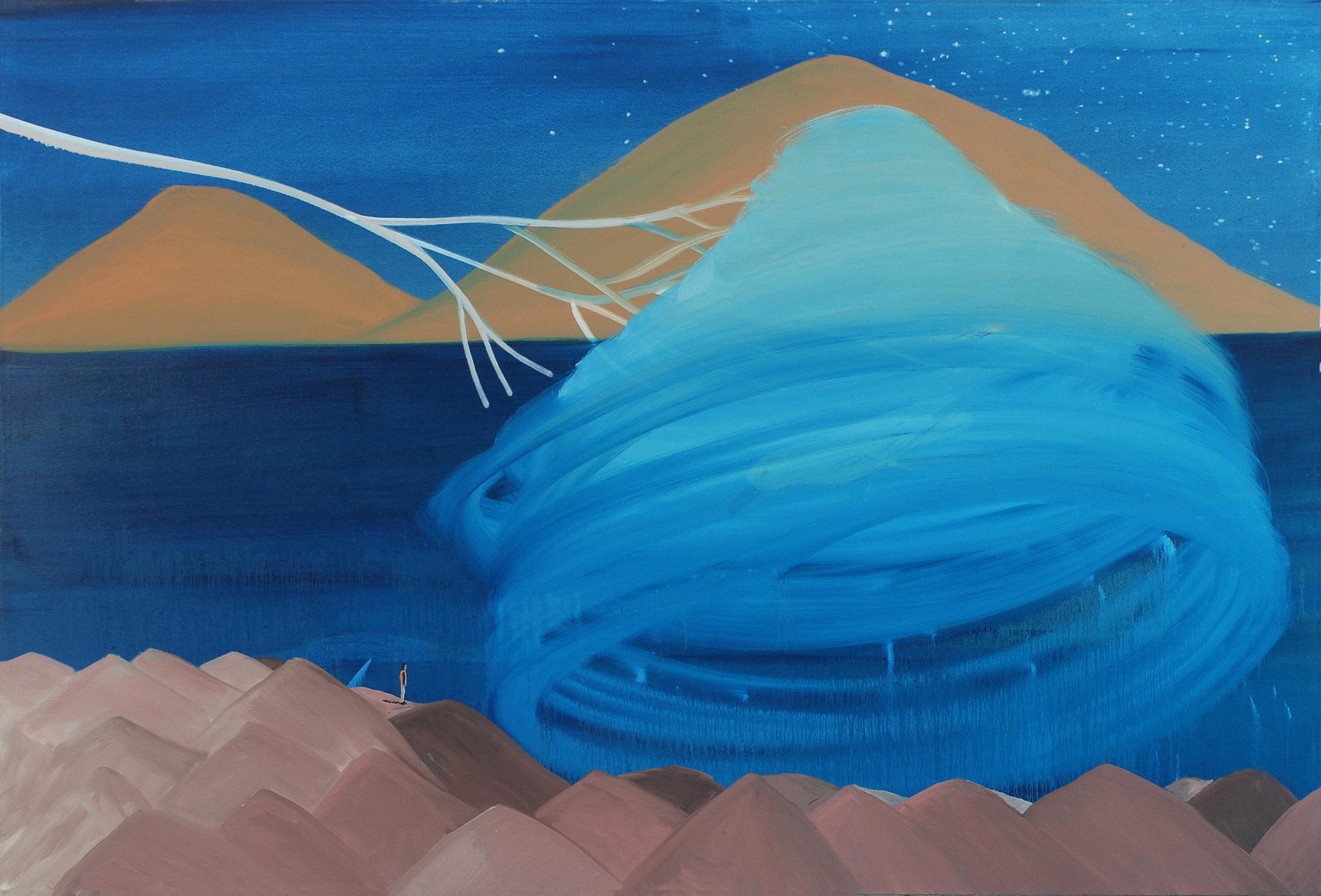 Generator, 2010    Oil on canvas, 147x178 cm