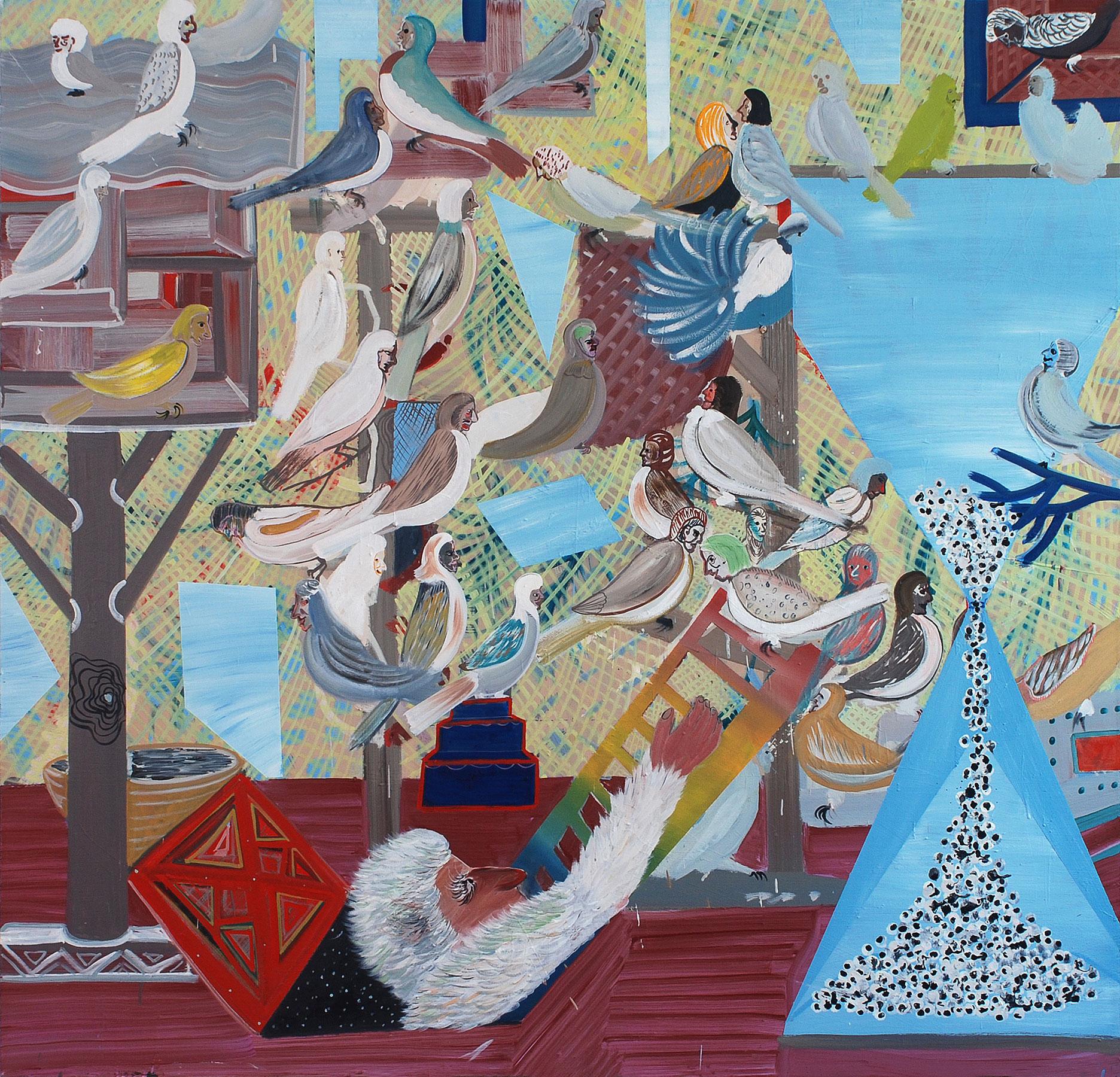 Jacob, 2011    Oil on canvas, 178x181 cm