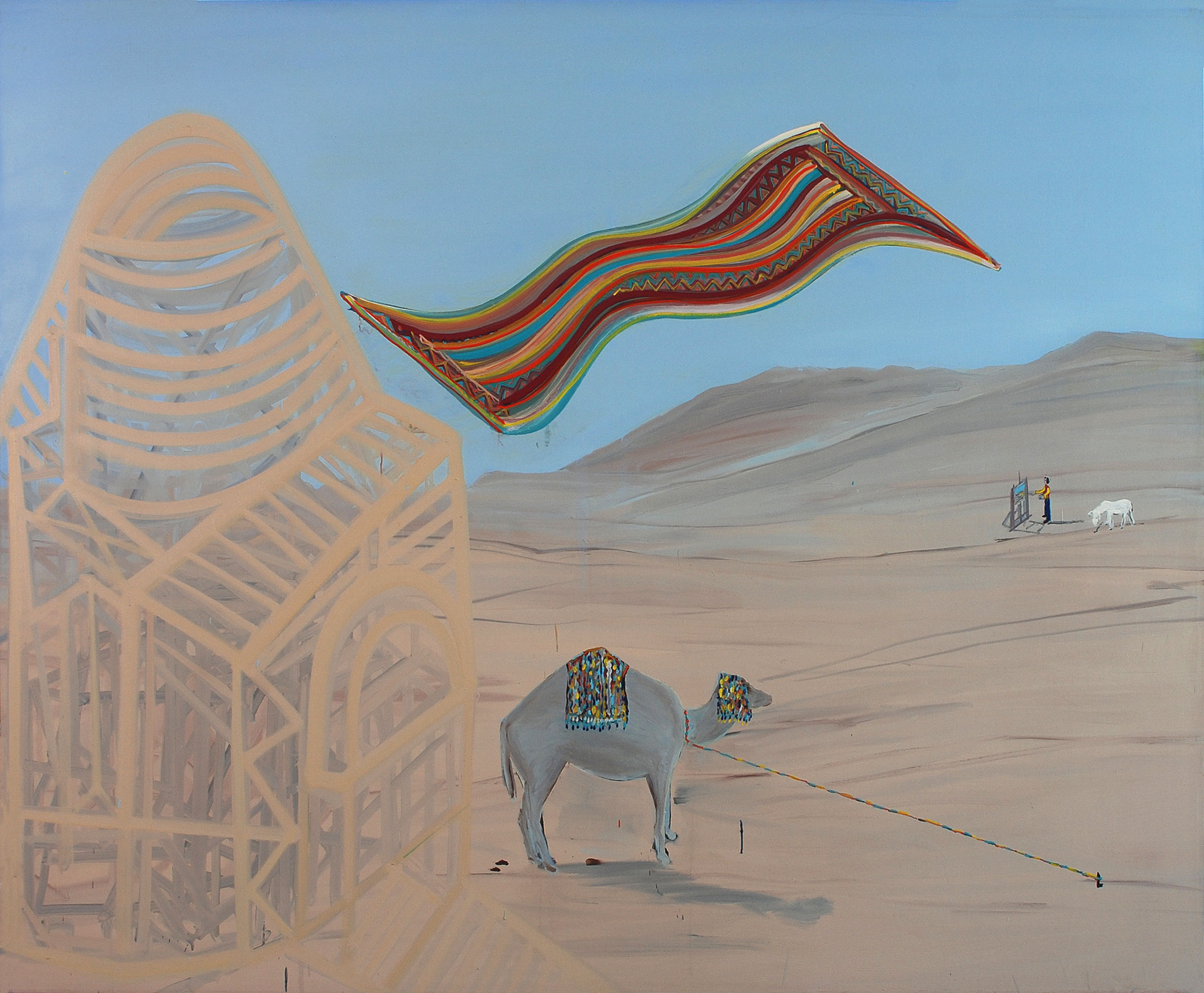 Orientalism, 2009    Oil on canvas, 189X198 cm