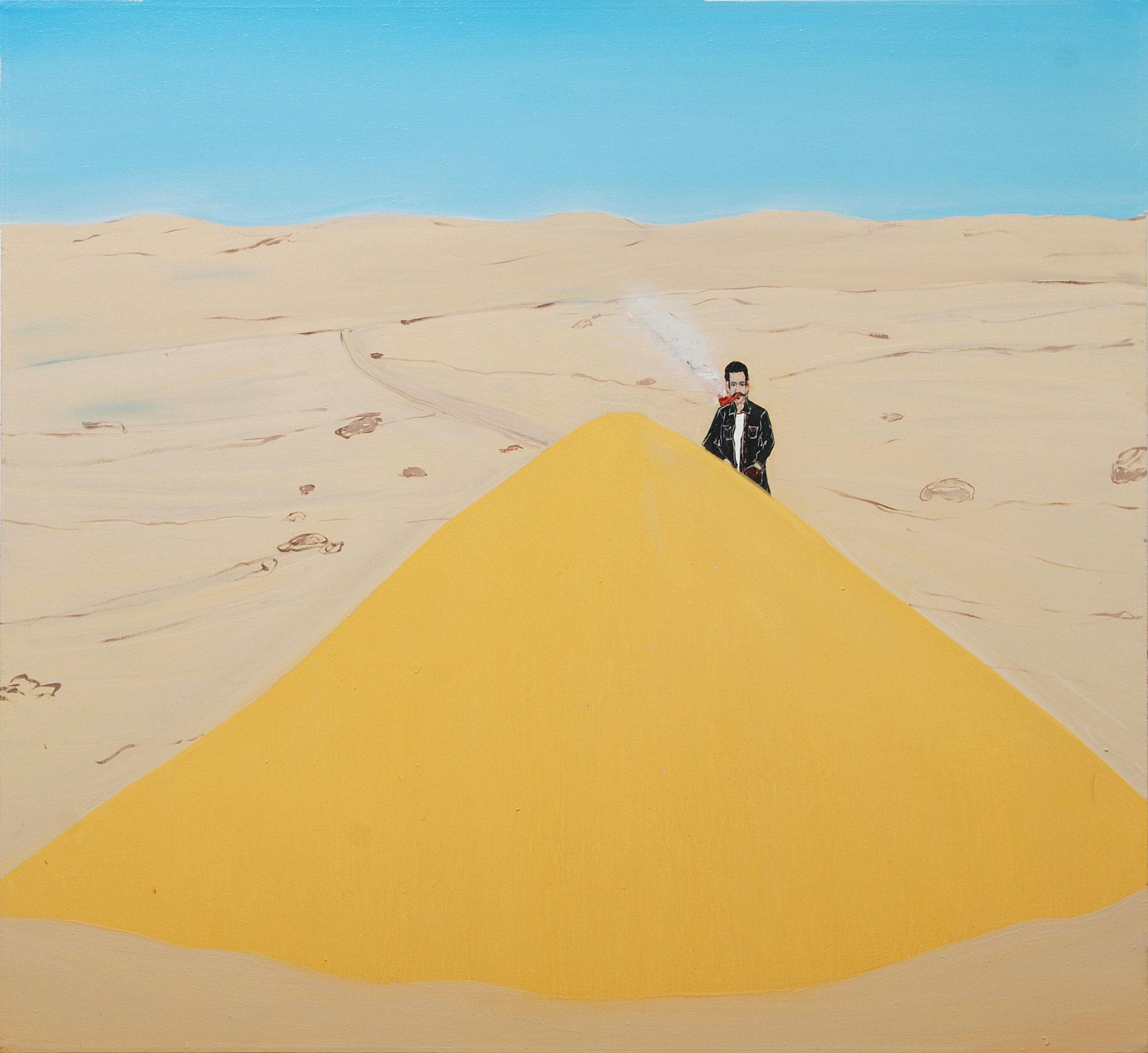 Sea Sand, 2009    Oil on canvas, 122x122 cm