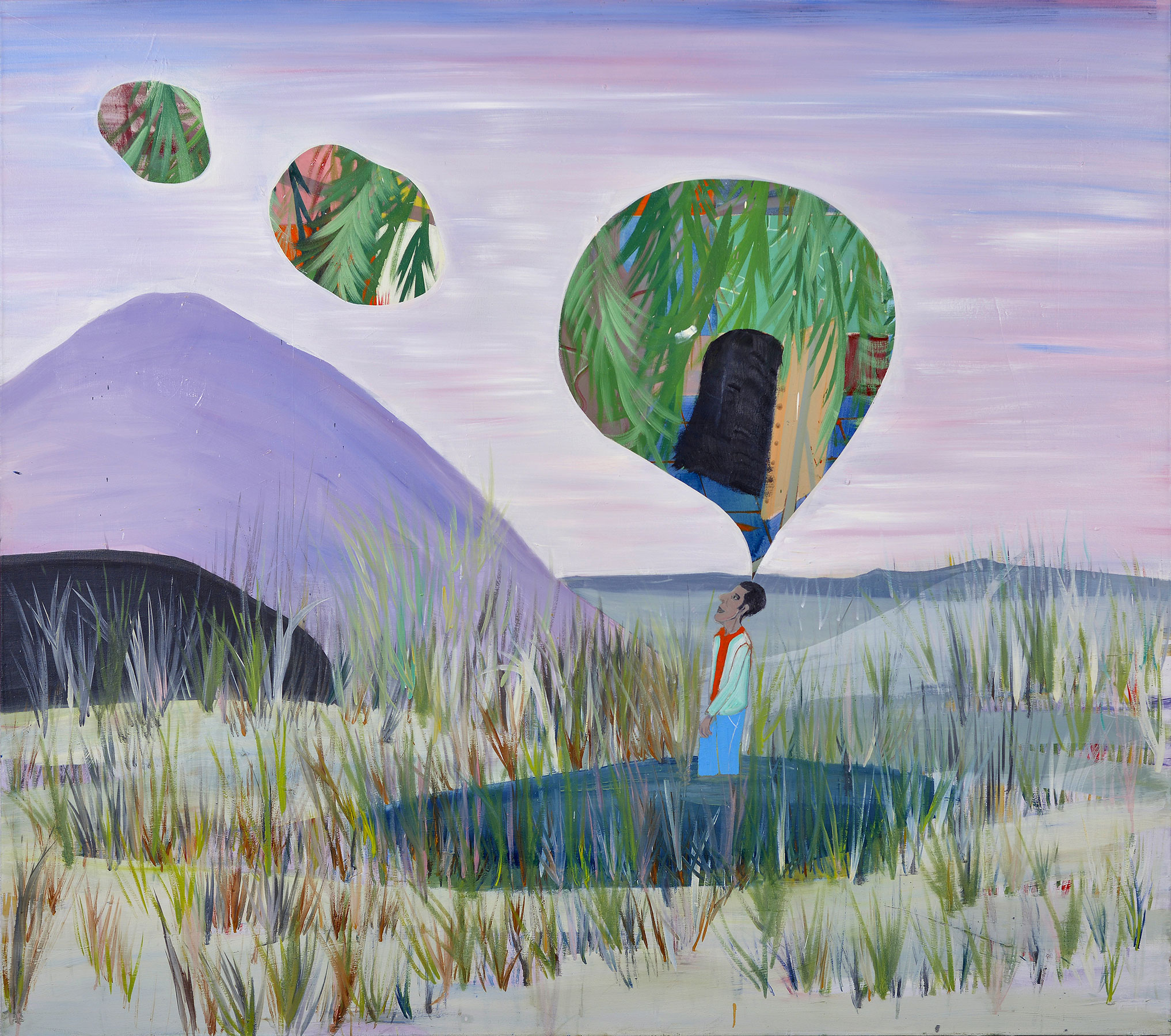 The Lost Princess, 2013    Oil on canvas, 168x189 cm