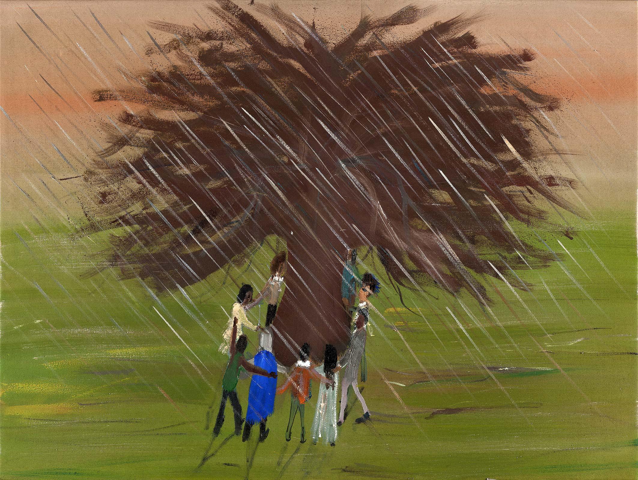 Reunion,2014  Oil on canvas,60x80 cm