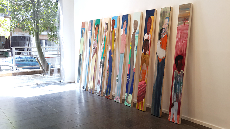 Observers, installation view