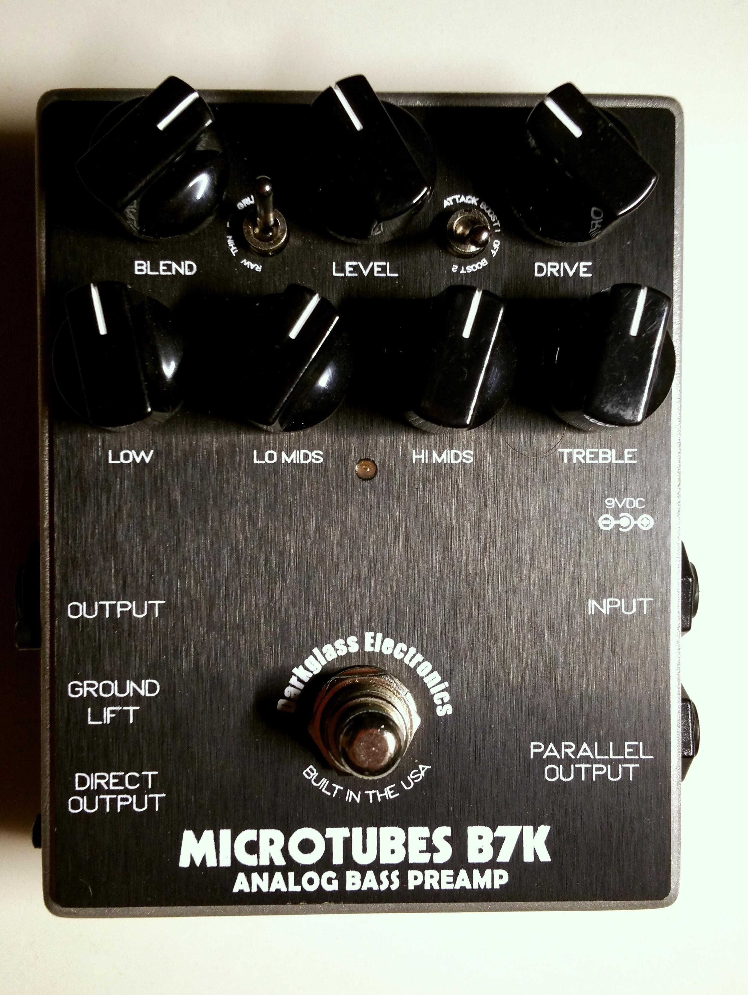 Darkglass Electronics Microtubes B7K.