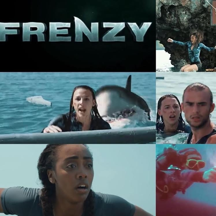 TRAVEL VLOGGERS ARE WILLING TO RISK EVERYTHING FOR THE VIEWS...EXCEPT THEIR LIVES. Catch me as KAHIA on SYFY's FRENZY. OUT NOW.