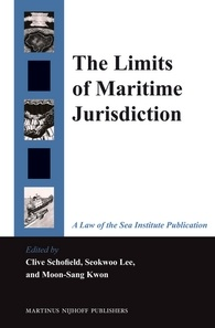The limits of Maritime Jurisdiction . Edited by Clive Schofield, Seokwoo Lee and Moon-Sang Kwon. (University of Wollongong, 2014)
