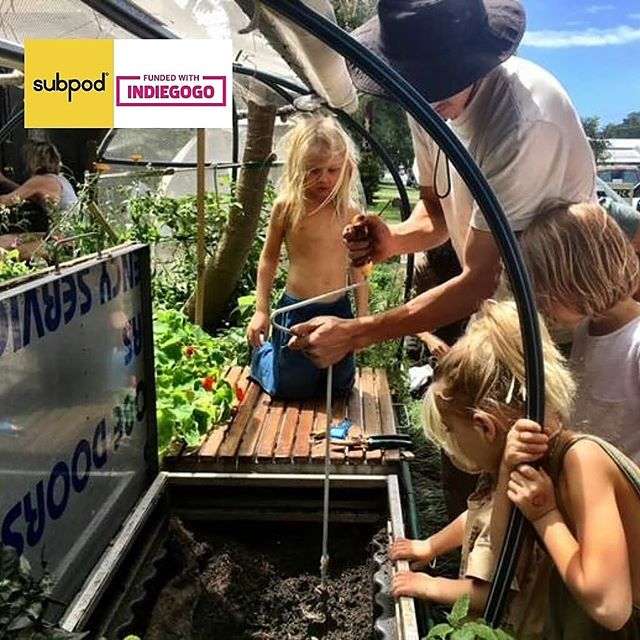 A huge hug and thanks to all our backers @indiegogo🙌  It's so amazing to have the support of 600 backers! 💪💚 Subpod takes the hard work out of composting - with no smells👃No mess 🗑 and no pest🐁  So anybody (old & young) can make composting apart of everyday living 🌏😉 #subpod #worms#soil#soilhealth#compost#composting#urbanorganic#gardeningtips#growyourown#homegrown#epicgardening#urbanorganicgardener#gardensofinstagram#permaculturedesign#gardeninglife#permaculture#nature#green#eco#sustainability#ecofriendly#earth#climatechange#gardenbed#sustainable#gogreen#recycle#CelebrateICAW#zerowaste#byronbay