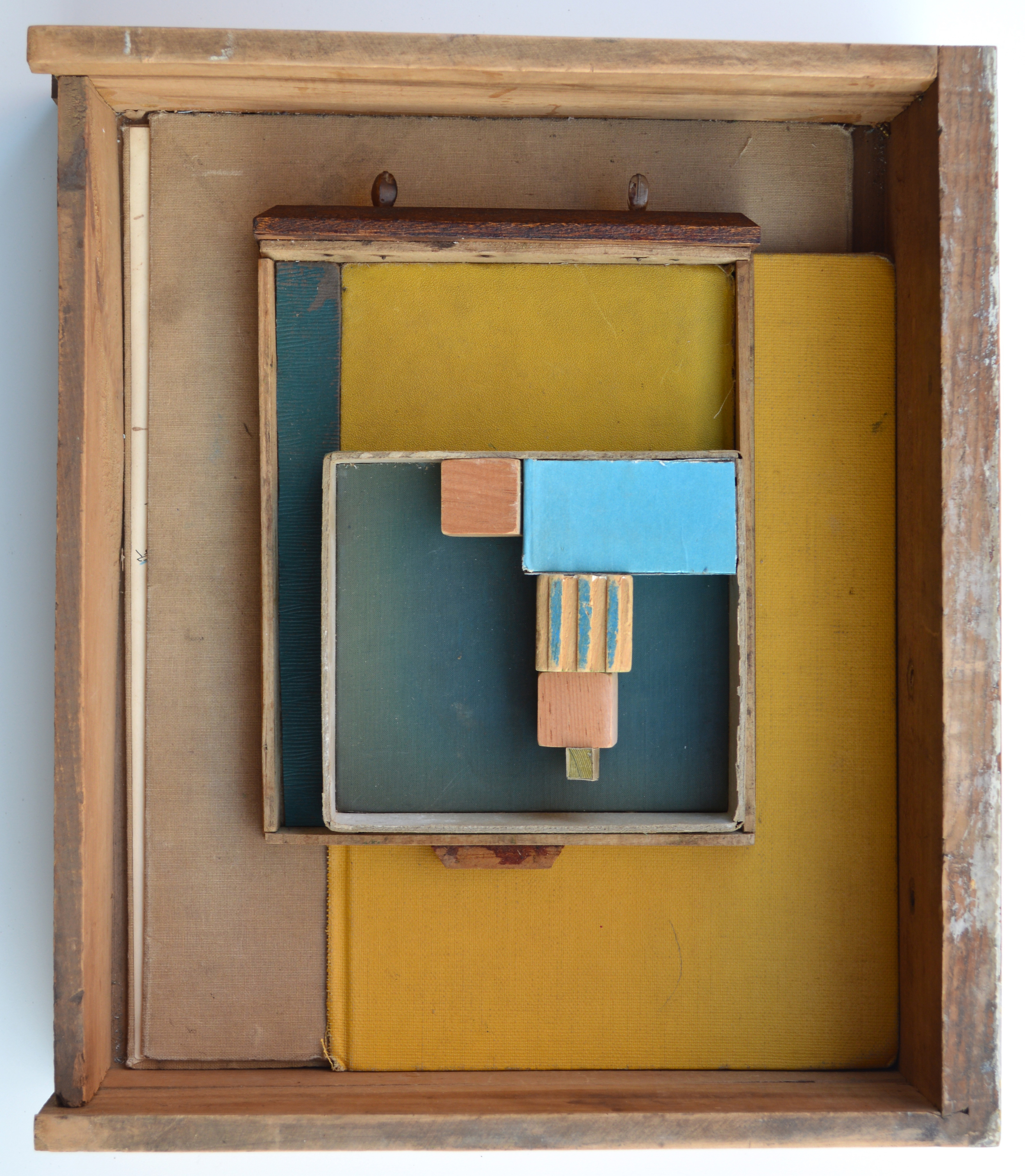 Yellow Drawer 2013, mixed media, 14X12X4 inches.jpg