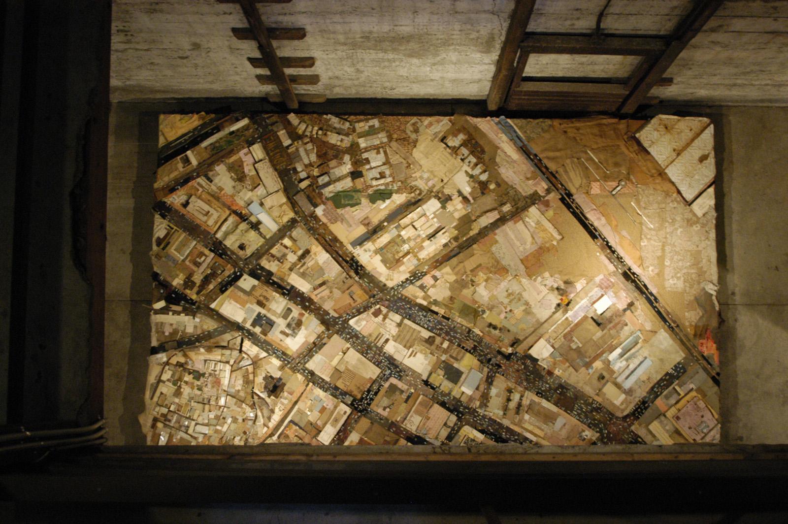 War Series, Rumination, 2007, 168X108in, mixed media on wood, web one of three.jpg
