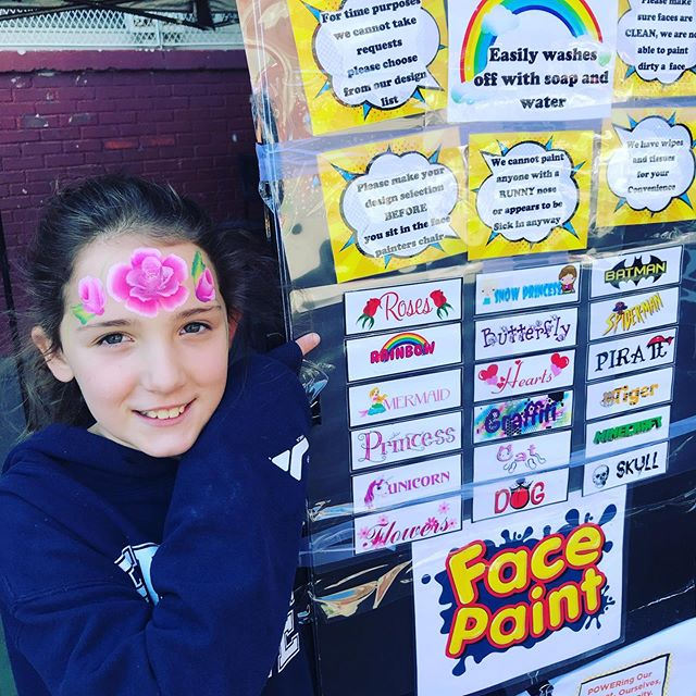 Face painting at STEAM Fair 2019. . . STEAM Fair 2019 Prospect Av & 7th Av Bklyn May 11, 11am-4pm