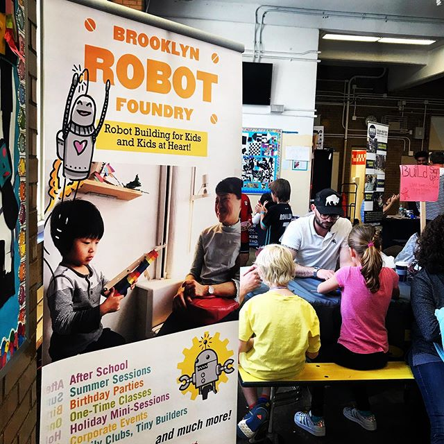 @robotfoundry @ STEAM Fair 2019  #steameducation #stemeducation #stemcamp #robot