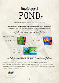 Rules for POND