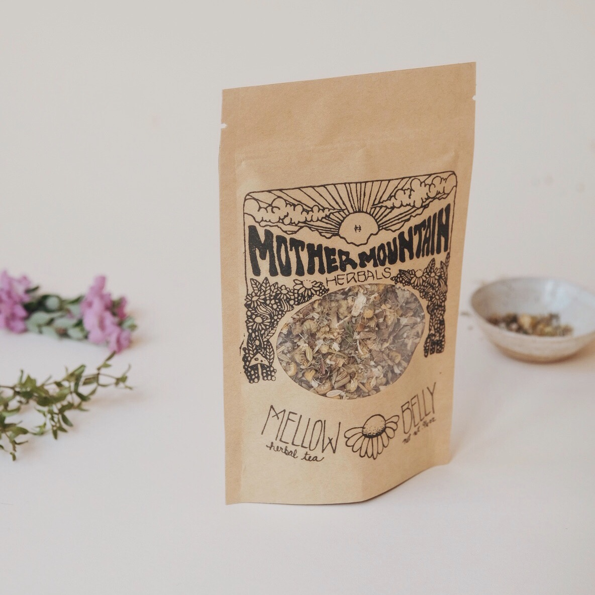 MELLOW BELLY TEA - HERBAL TEA