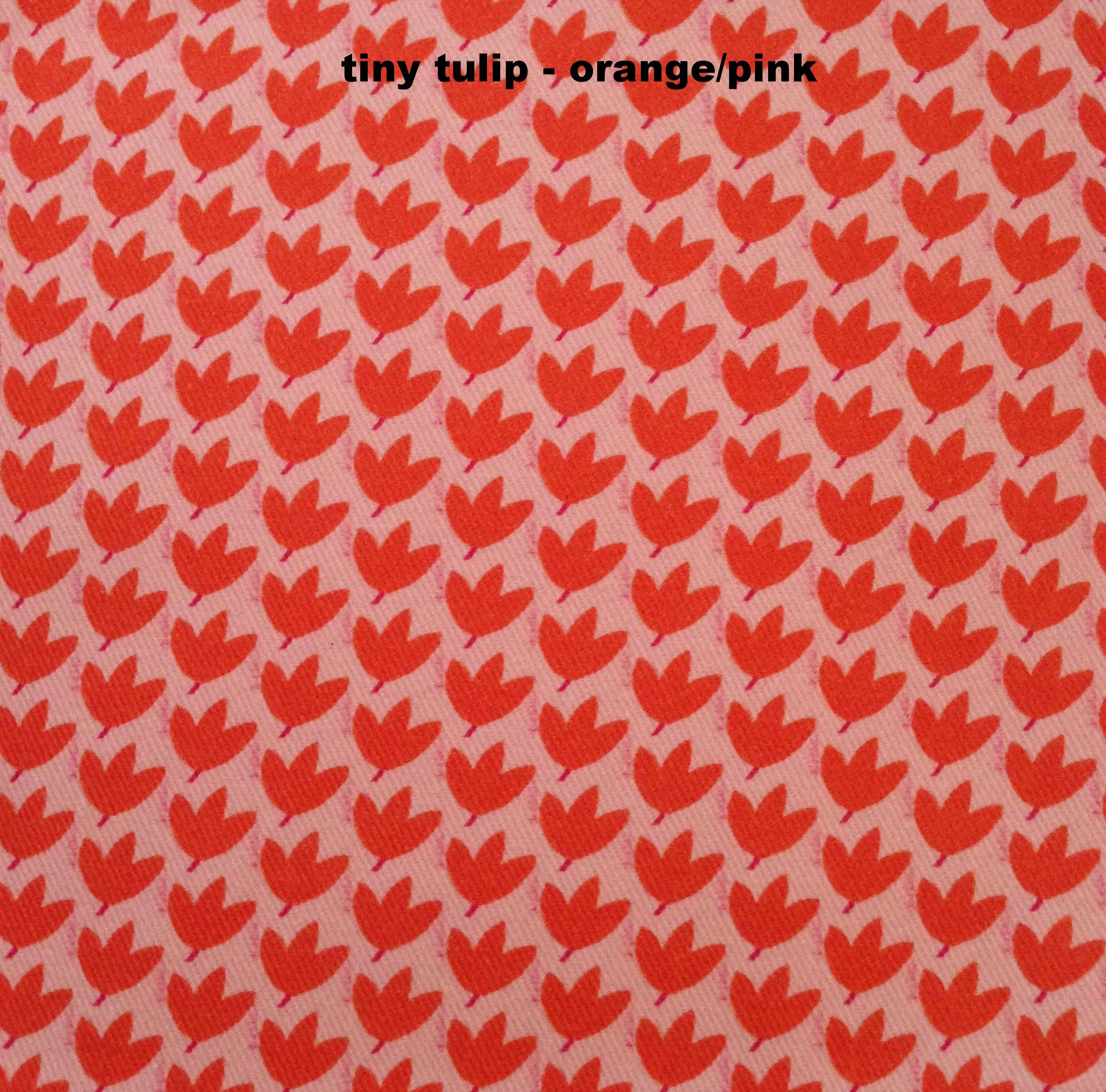tiny tulip - orange/pink