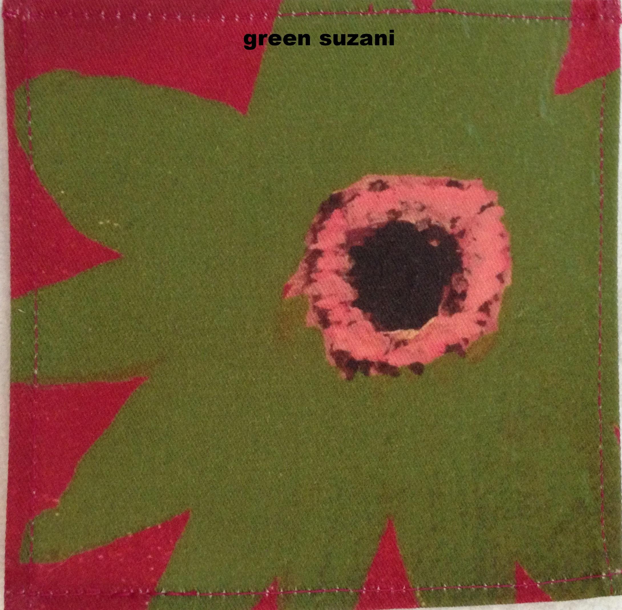 suzani - green