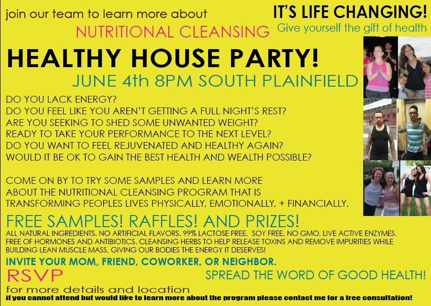 healthyhouseparty
