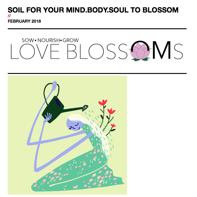 LOVE BLOSSOMS NEWSLETTER
