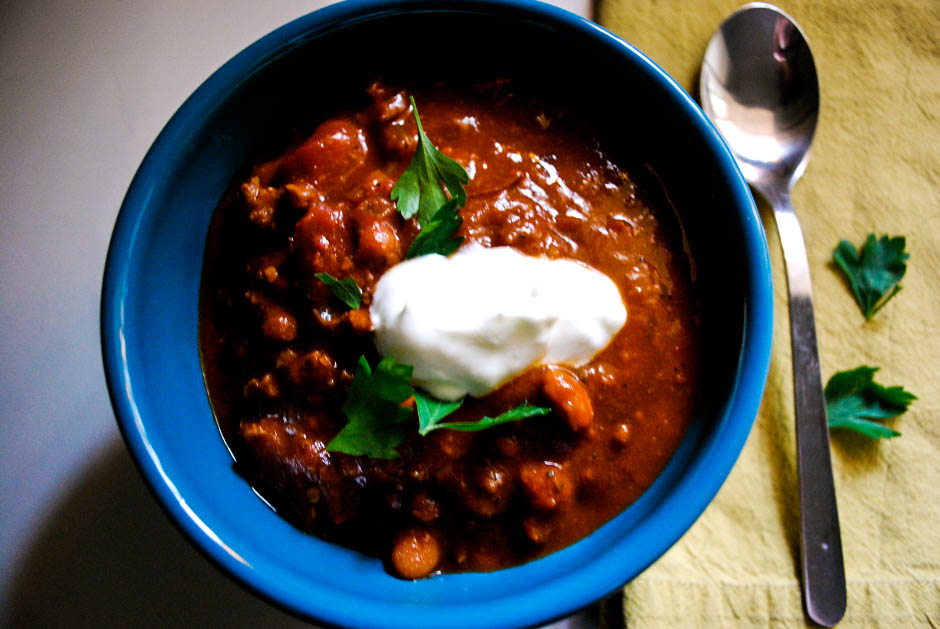Beef Chili For Michelle