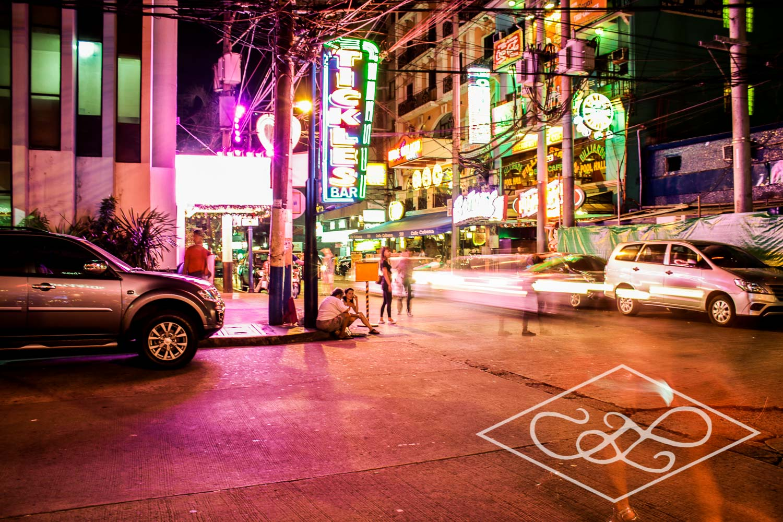 Nightlife on the corner