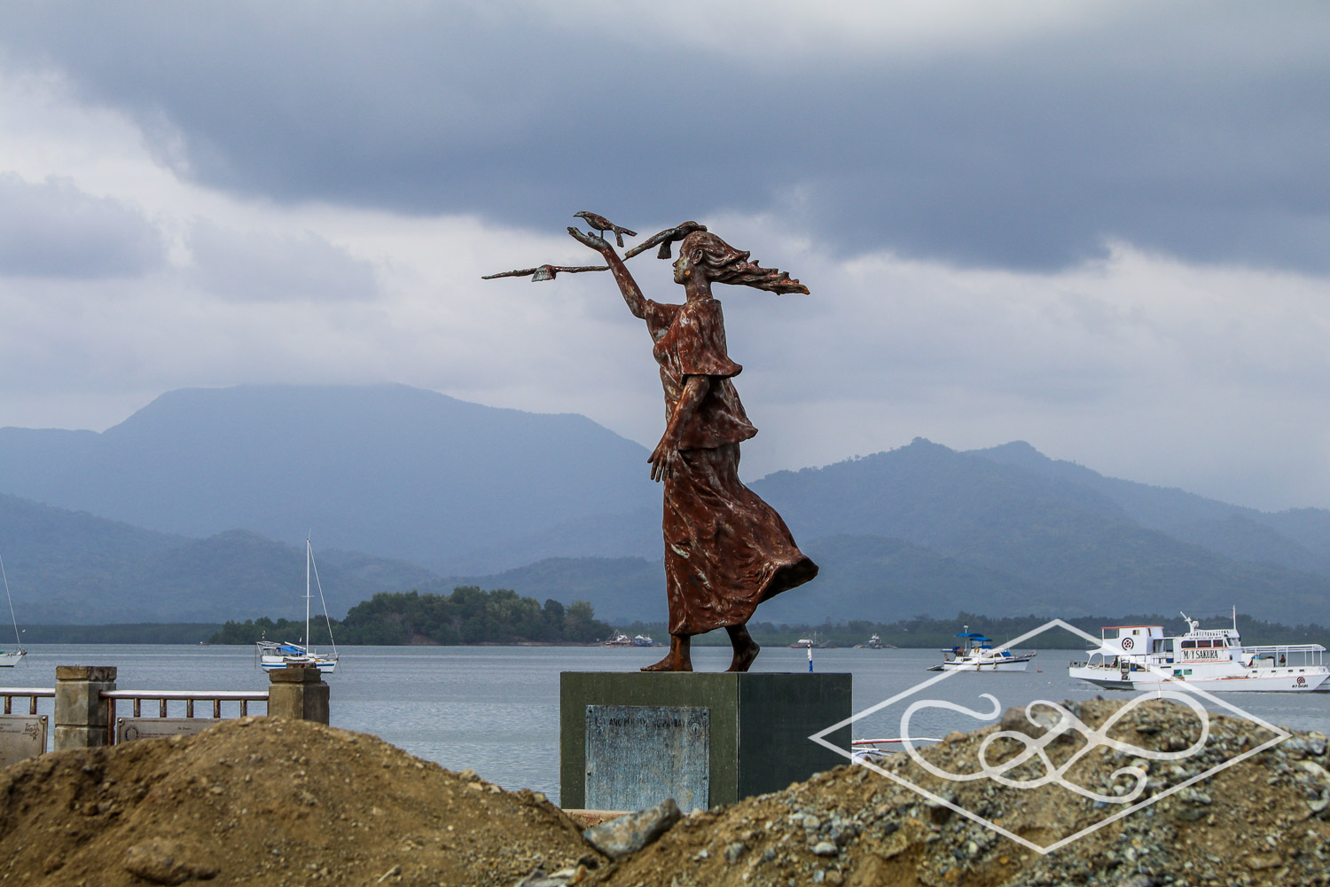 Stormy Statue