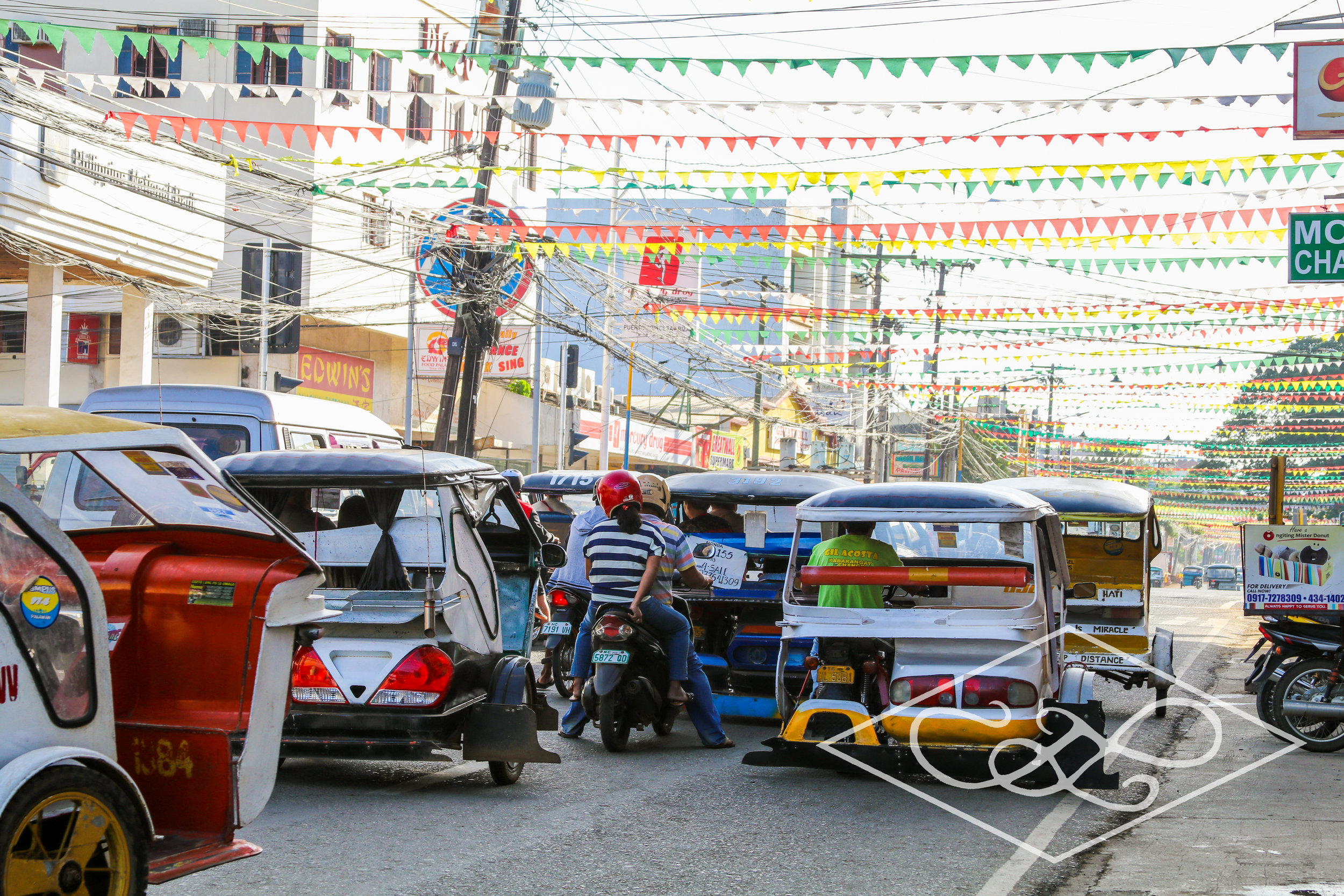 Tricycle Traffic