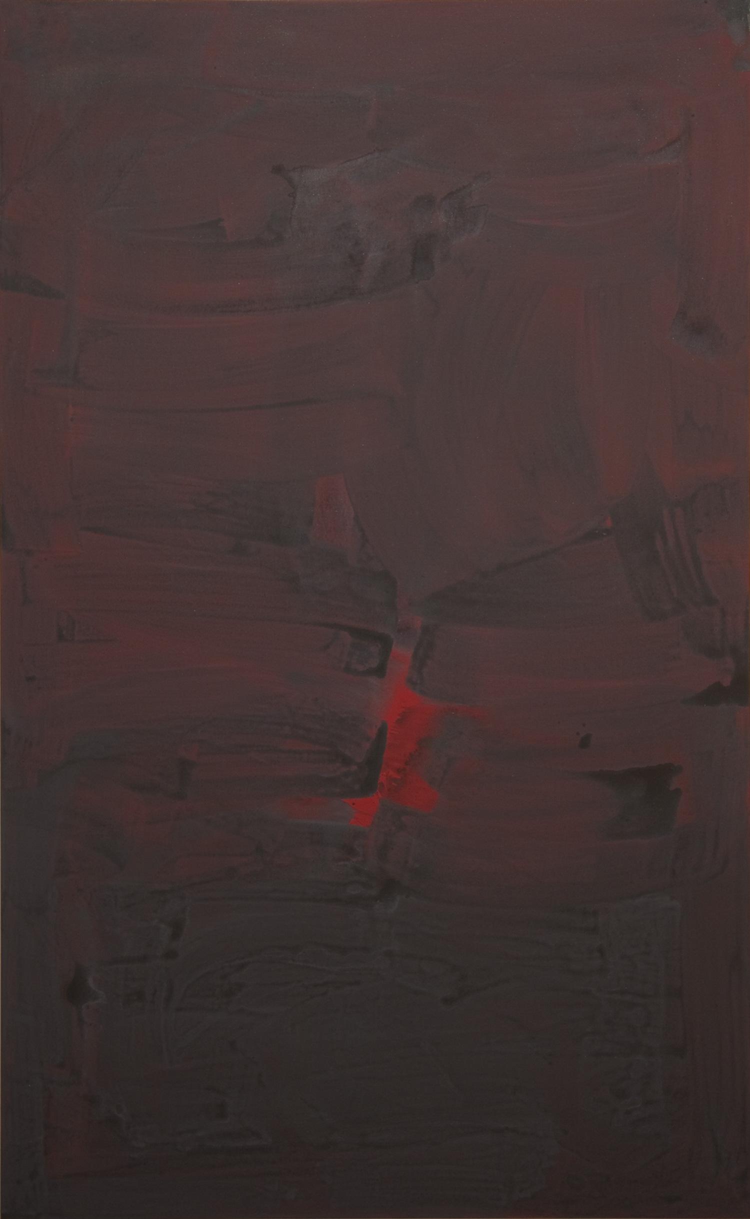2012, acrylic on canvas, 150 x 242.5 cm (59 x 95 1/2 in)