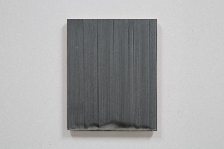 acrylic on plywood, 40 x 50 cm (15 3/4 x 19 3/4 inches)