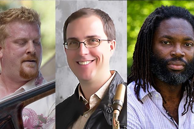 BaSH: Clark Sommers, Geof Bradfield, Dana Hall - Saturday, September 24, 7:15-8:15pmInternational House