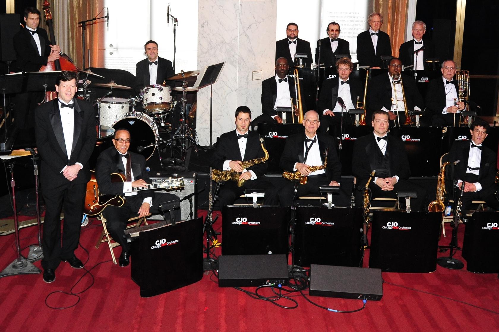 Chicago Jazz Orchestra - Sunday, September 25, 5:00-6:00pmWest Stage