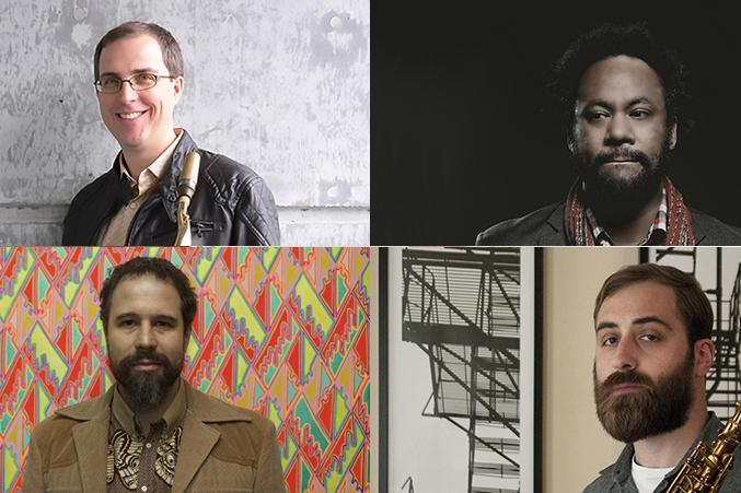 Garden of Souls: Geof Bradfield, Nick Mazzarella, Joshua Abrams, Mike Reed - Saturday, September 24, 3:30-4:30pmWagner Stage