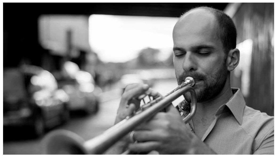 Trumpeter and composer Amir ElSaffar, who will perform at Rockefeller Chapel, 5850 S. Woodlawn Ave., Saturday at 11 p.m. Michael Crommett/Courtesy of Hyde Park Jazz Festival.