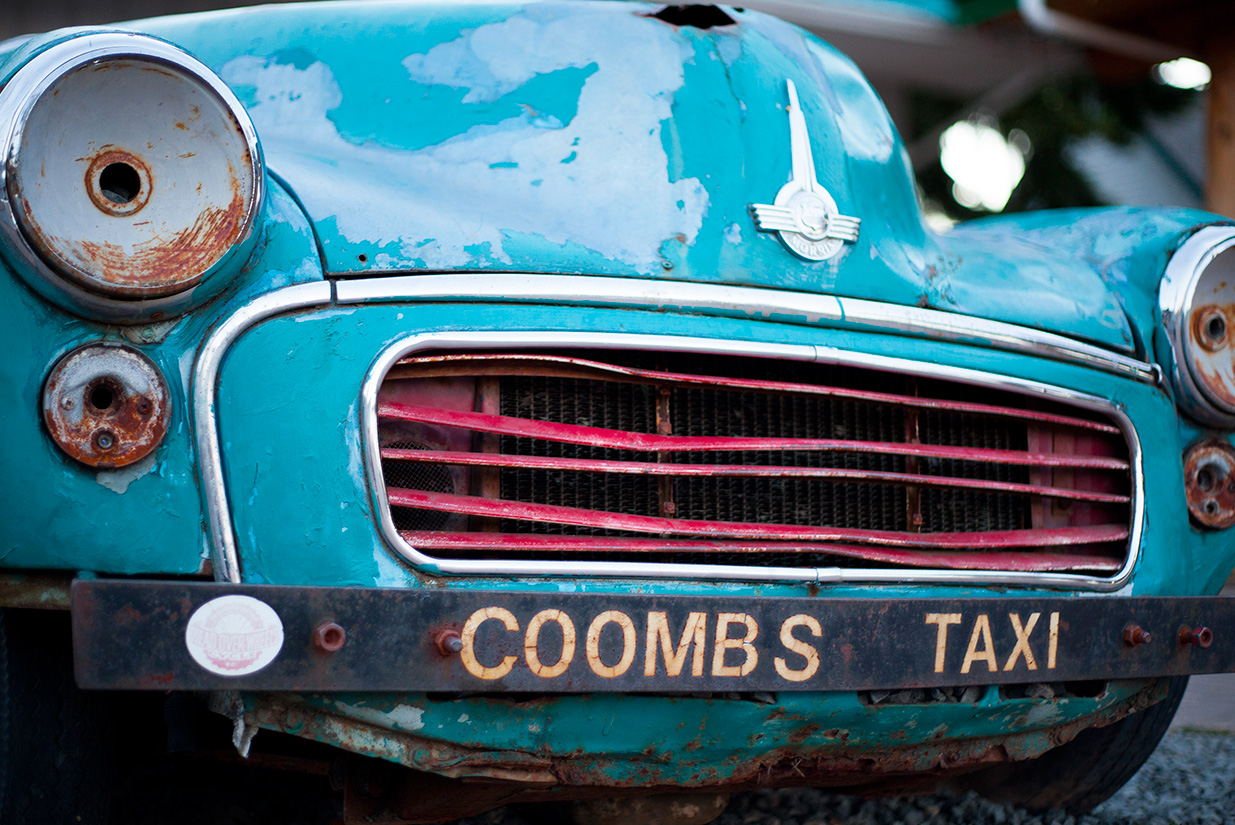 Taxi, TAXI - Coombs, BC.