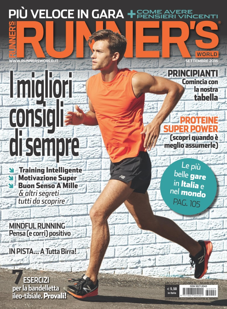 Runner's World Italia Cover September 2016