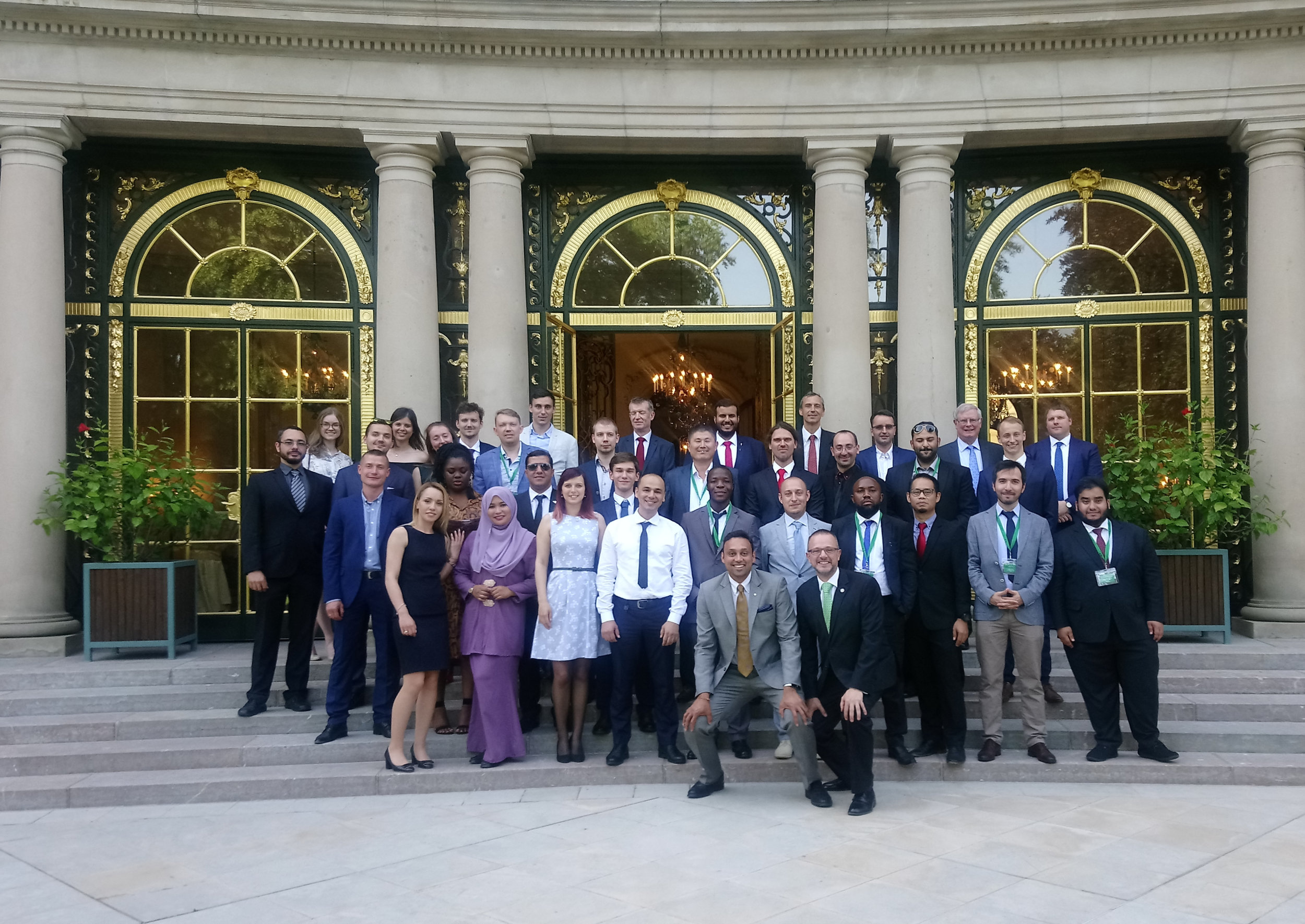 The farewell event at the US Ambassador's Residence