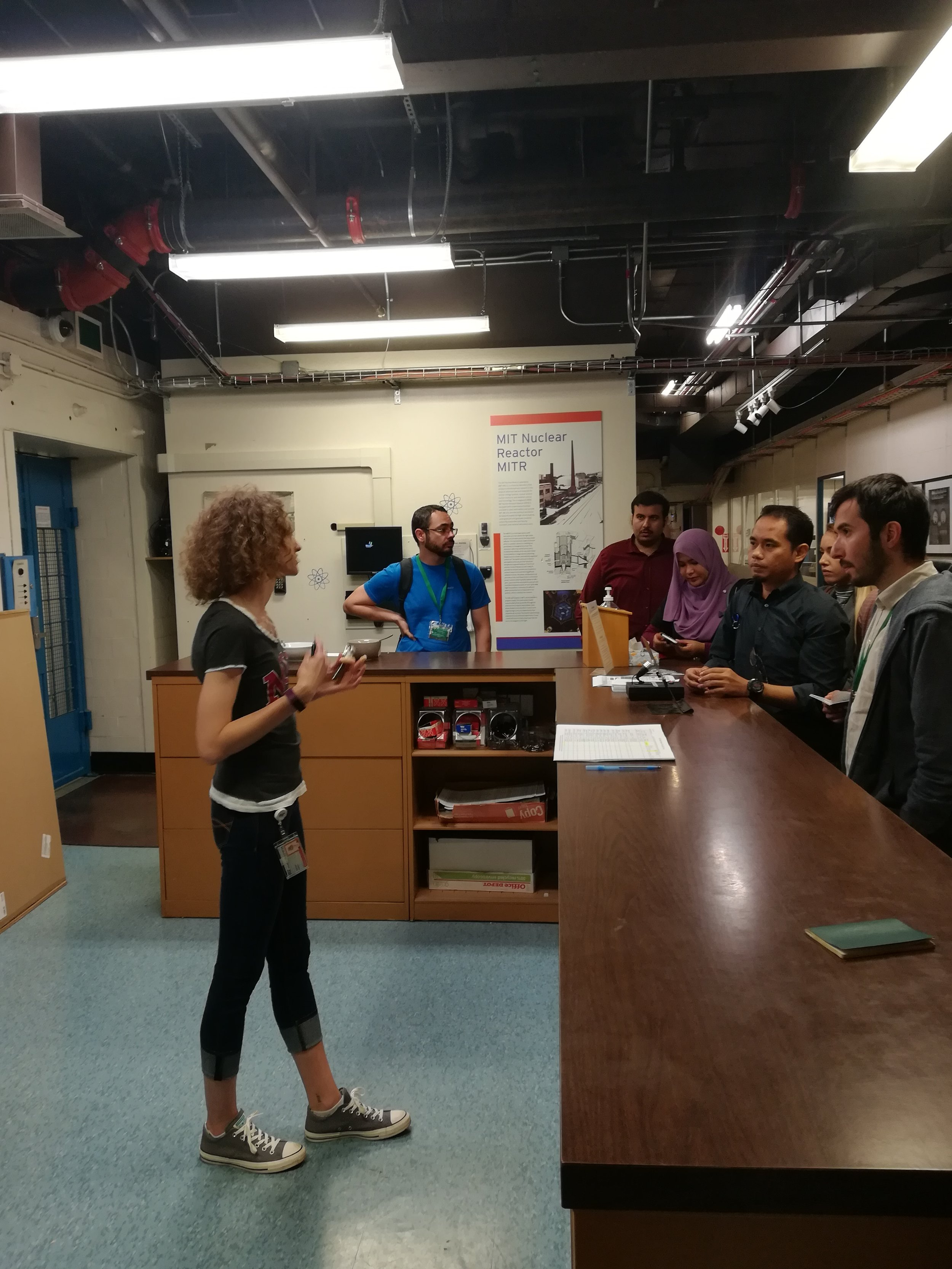 Visit to the Nuclear Reactor Lab at MIT