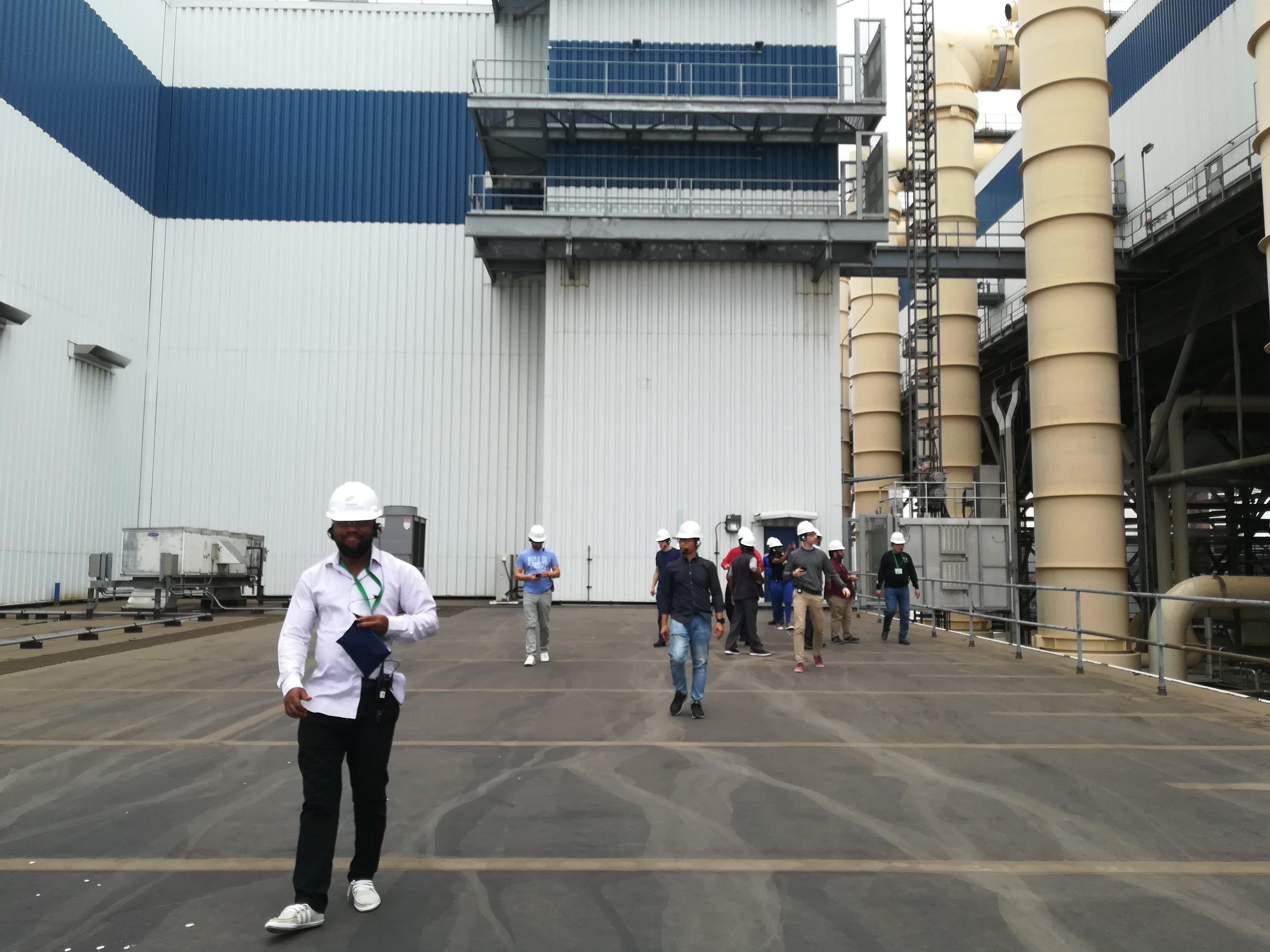 Mystic Generating Station site visit
