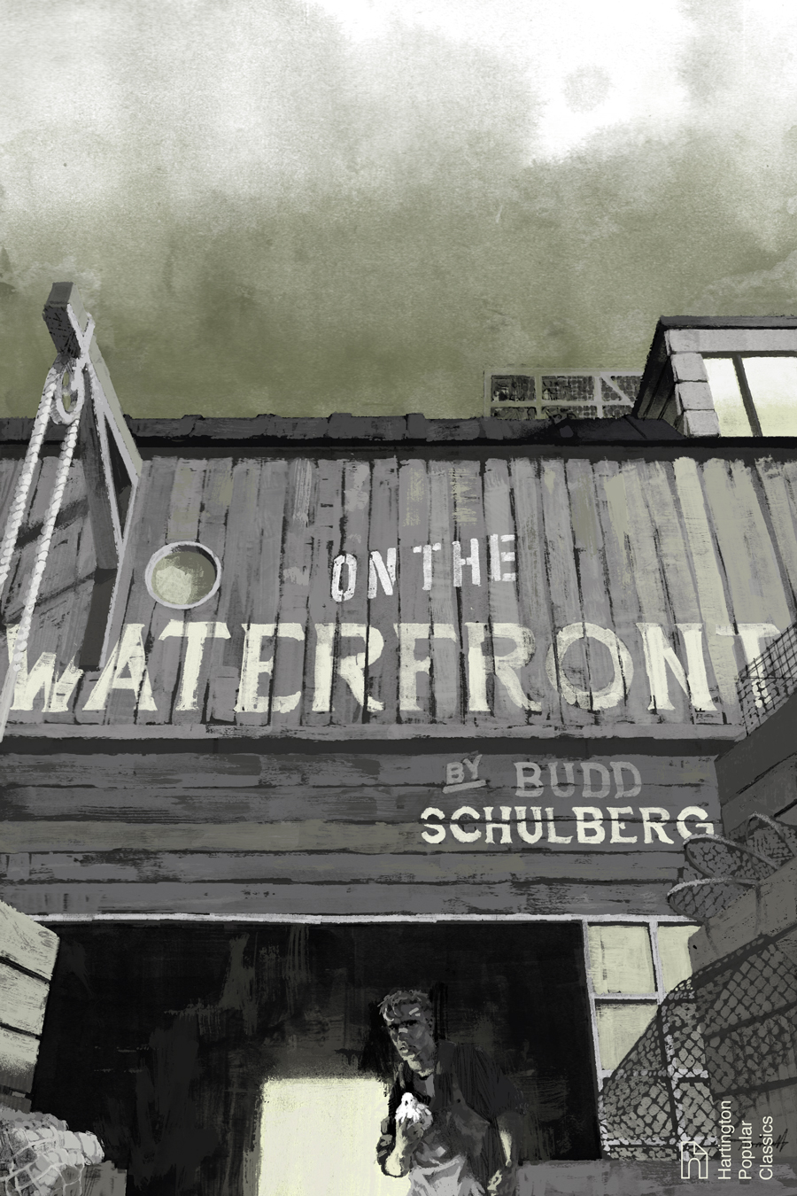 On The Waterfront Book Cover by Marc Aspinall