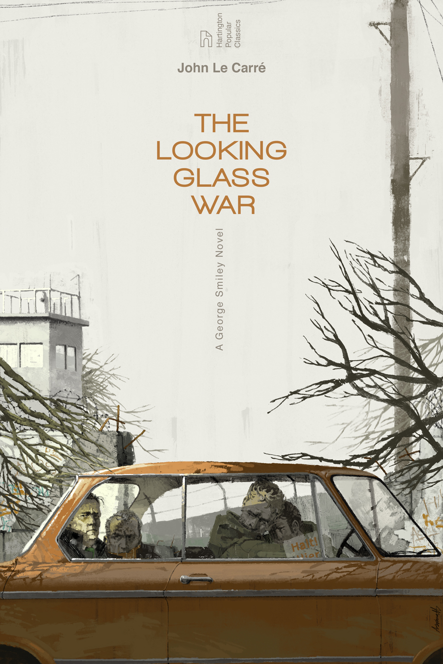 The Looking Glass War by John Le Carré book cover by Marc Aspinall