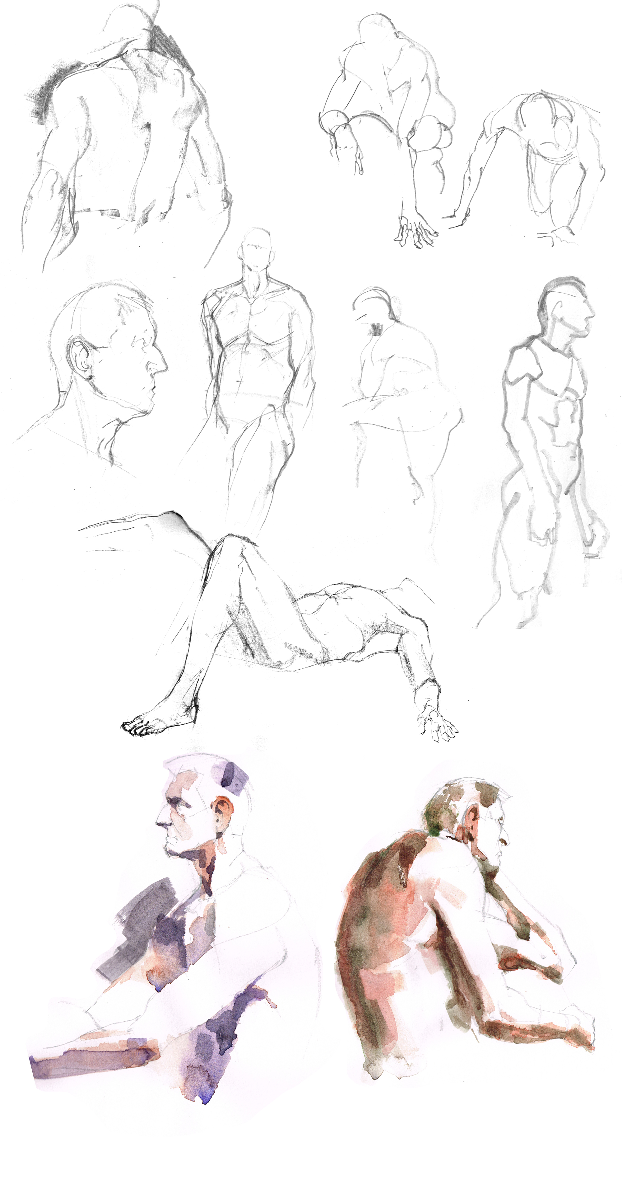 Life drawing Liverpool by Marc Aspinall