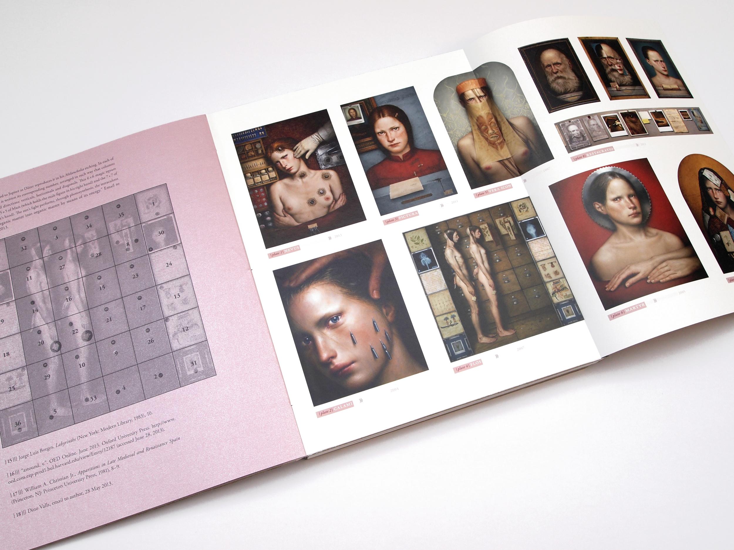 Typografische Gestaltung: DINO VALLS – Ex Picturis II
