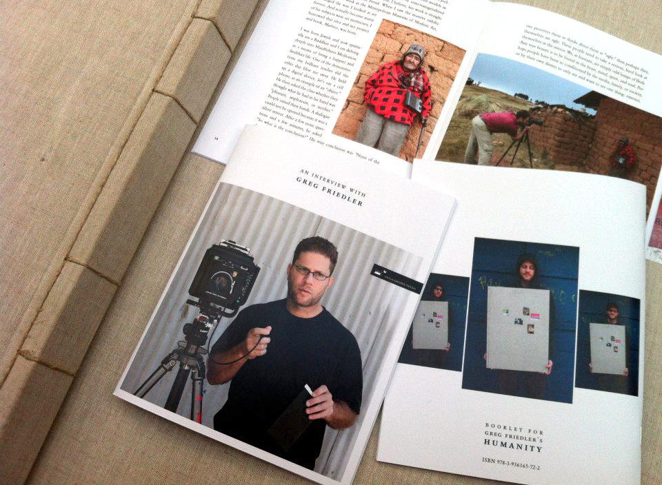 Booklet zu HUMANITY – Greg Friedler