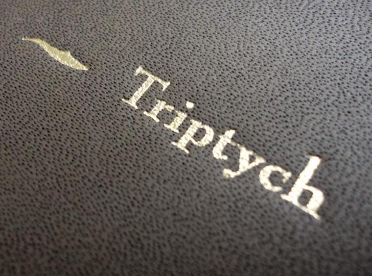 Triptych – Alvin Booth – Heißfolienprägung