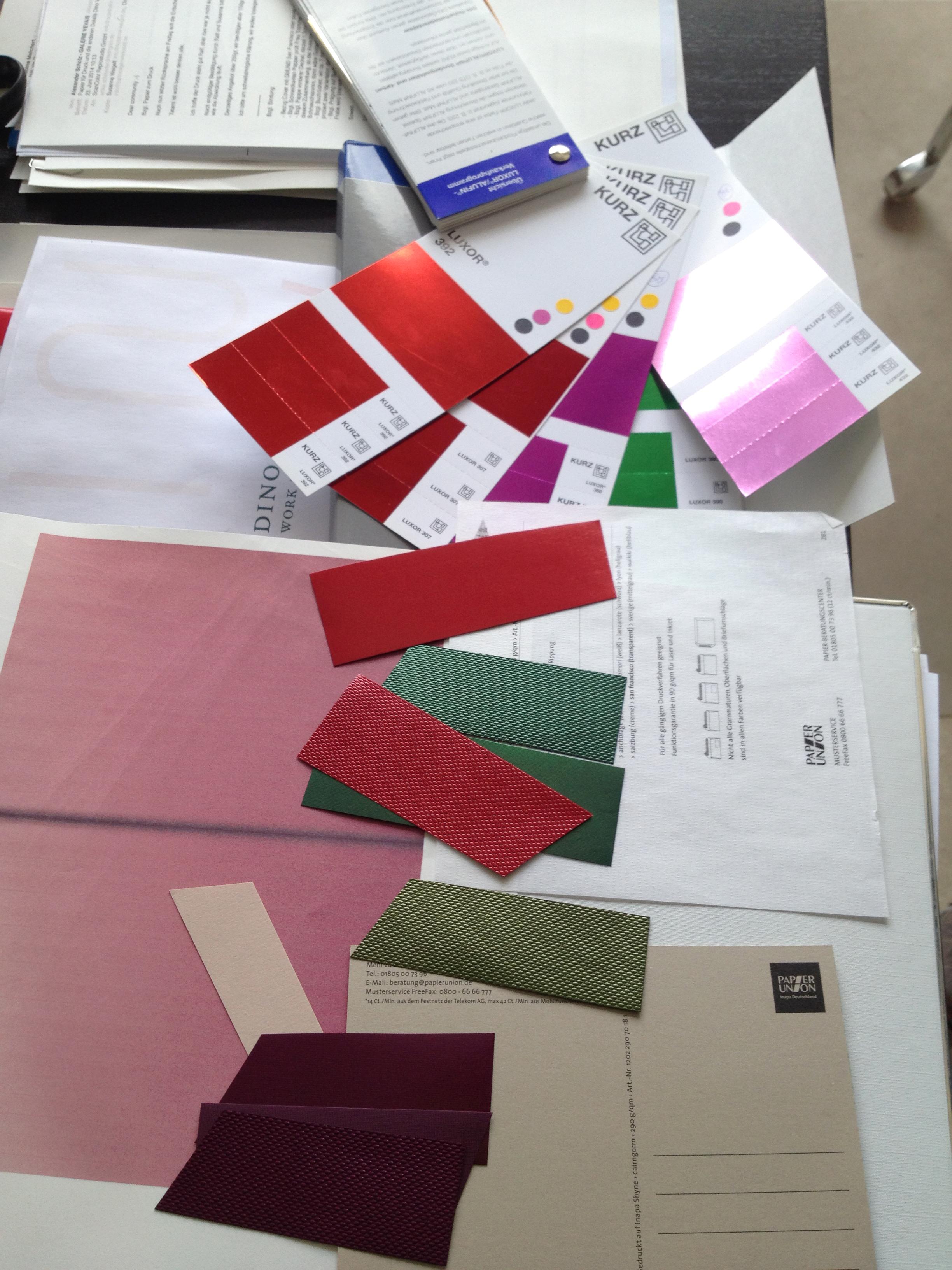 Austattung – Materialauswahl