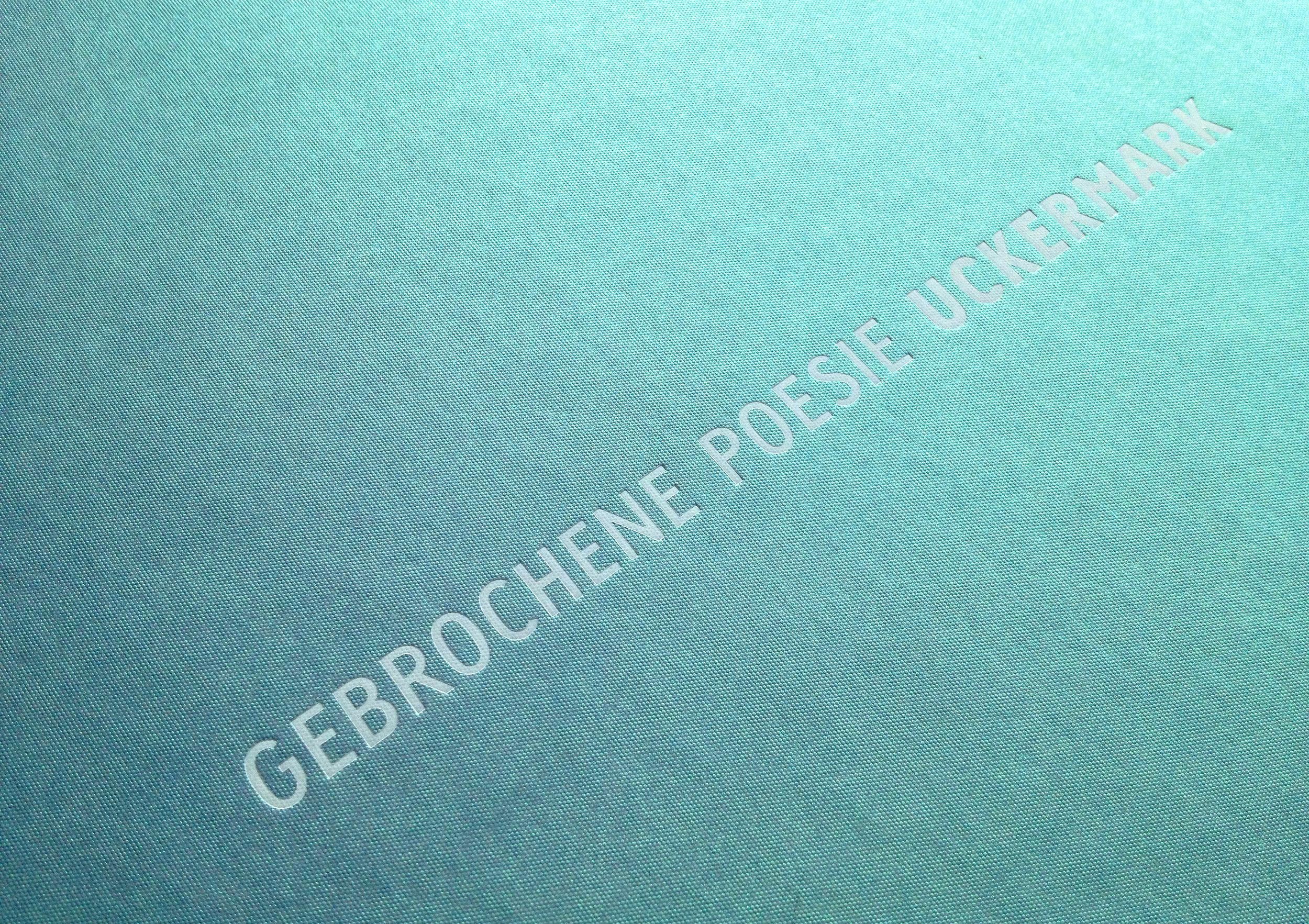 Heißfolienprägung auf dem Cover der Offset-Edition