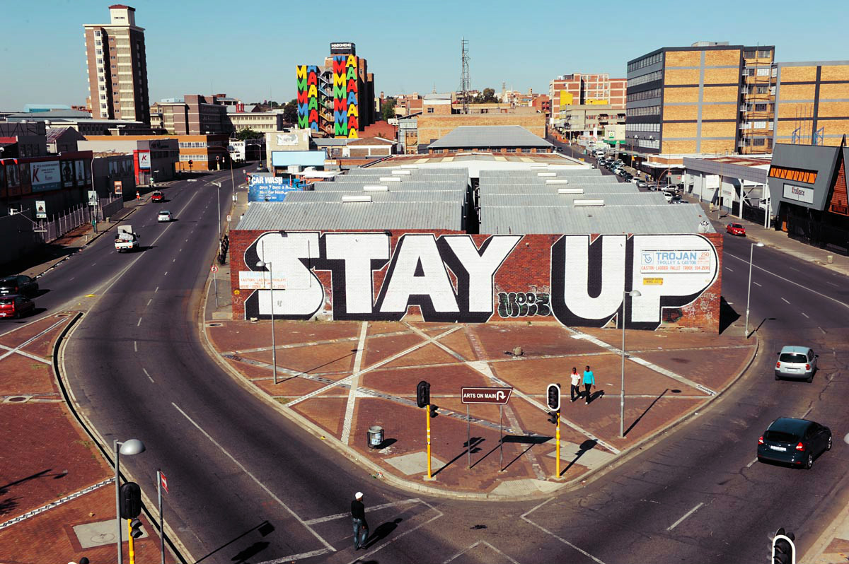 MABONENG PRECINCT, Johannesburg  Turning a no-go industrial zone into a creative and inclusive neighbourhood