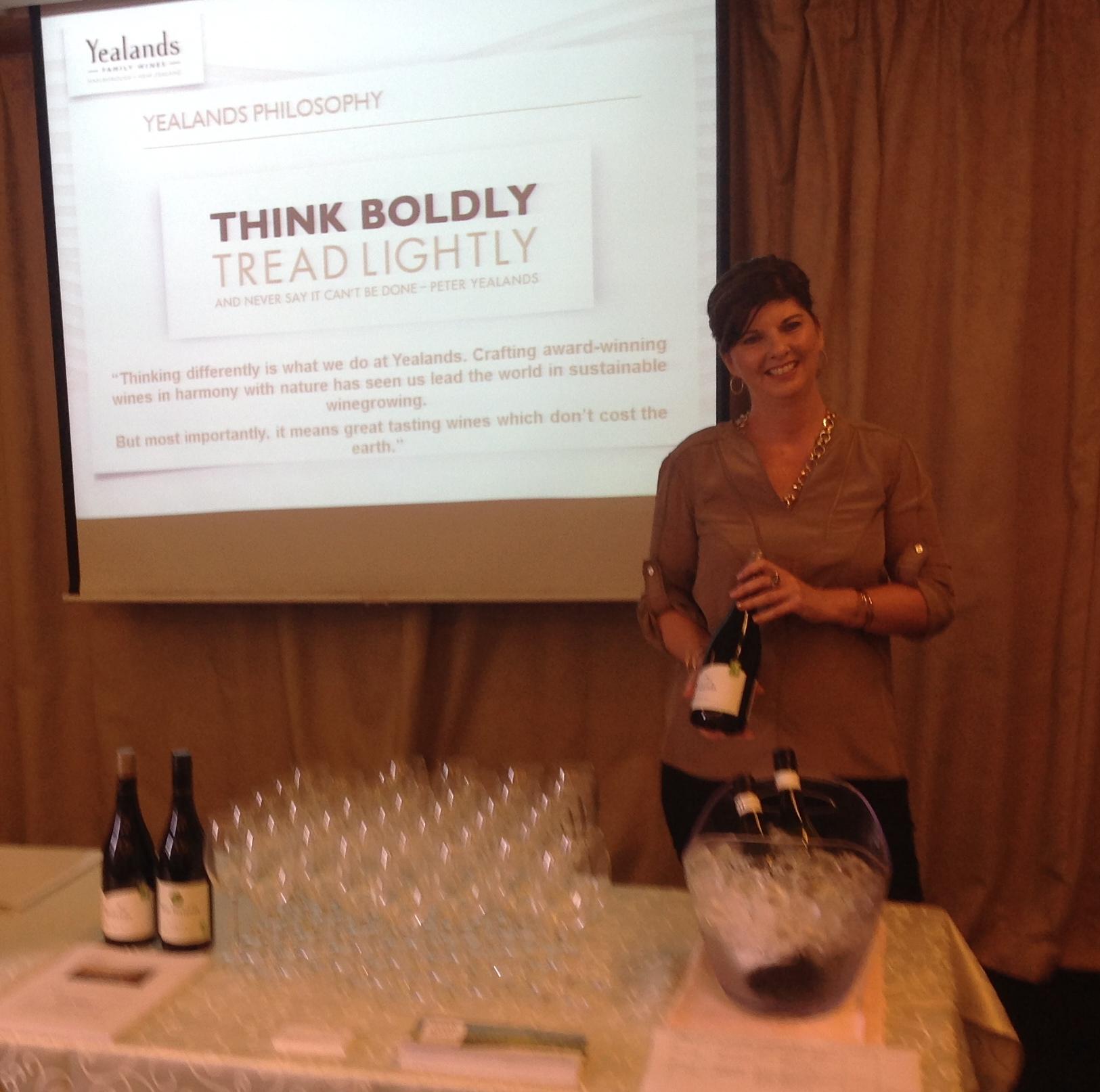 Wine Tasting -Corona Women's Group Mariner's Club, TST - Oct 2014