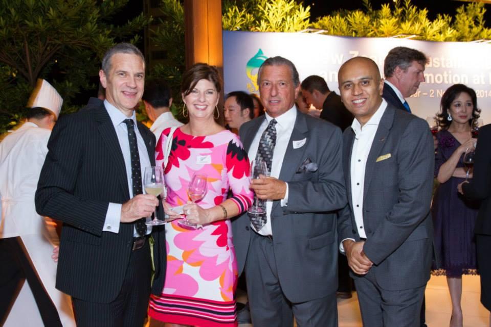 Reception - NZTE NZ Wine & Fish Promotion at JW Marriott HK - Oct 2014