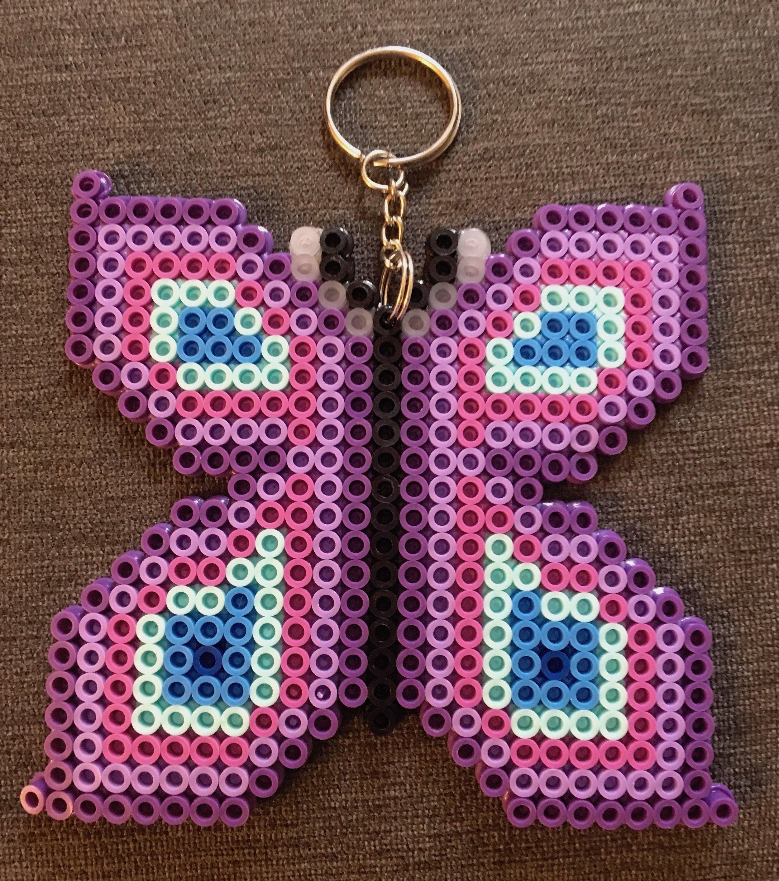 Perler beads, age 7