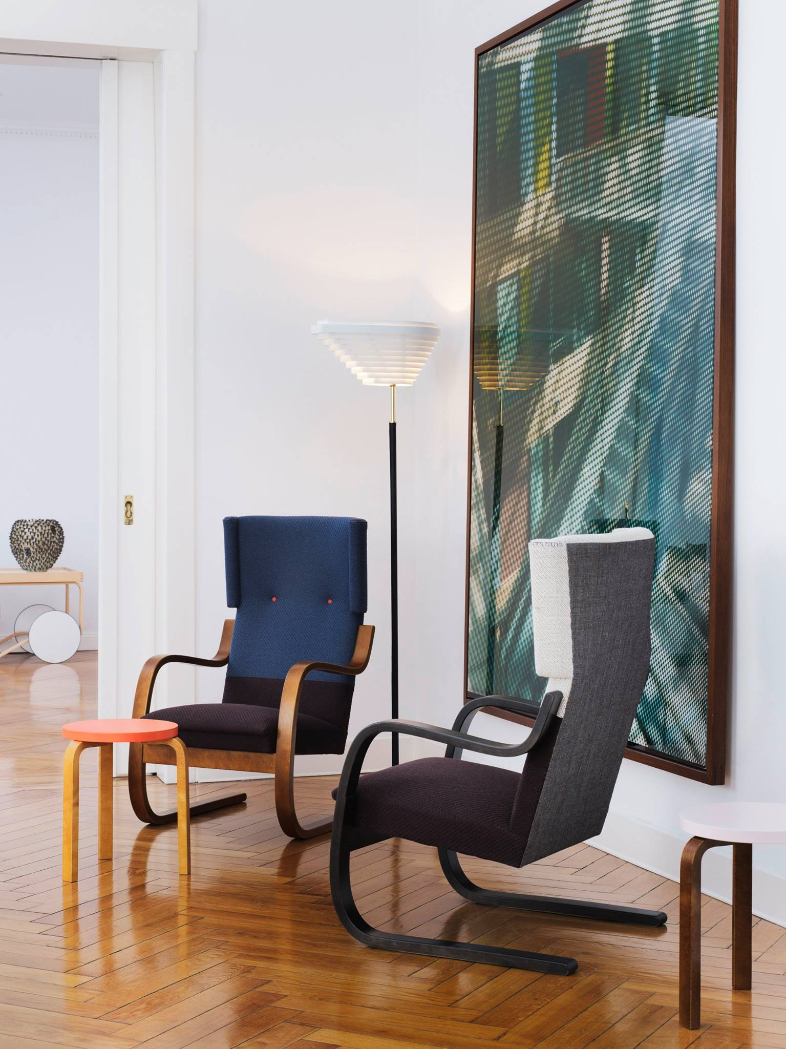 Armchair and 401 by Hella Jongerius from Artek