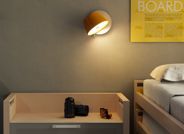 Tam tam wall sconce from Marset.